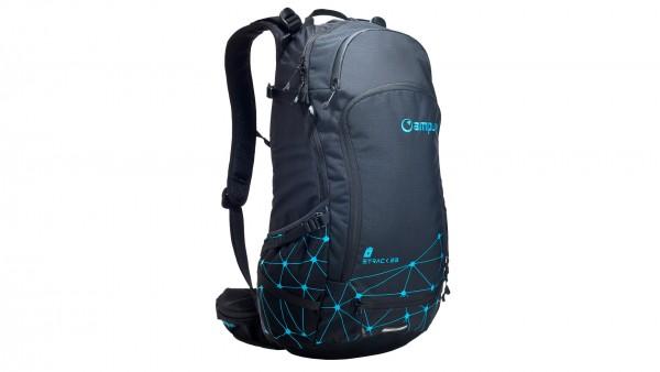 Amplifi E-Track 23 Sac à dos pour batterie de vélo électrique en gris et turquoise