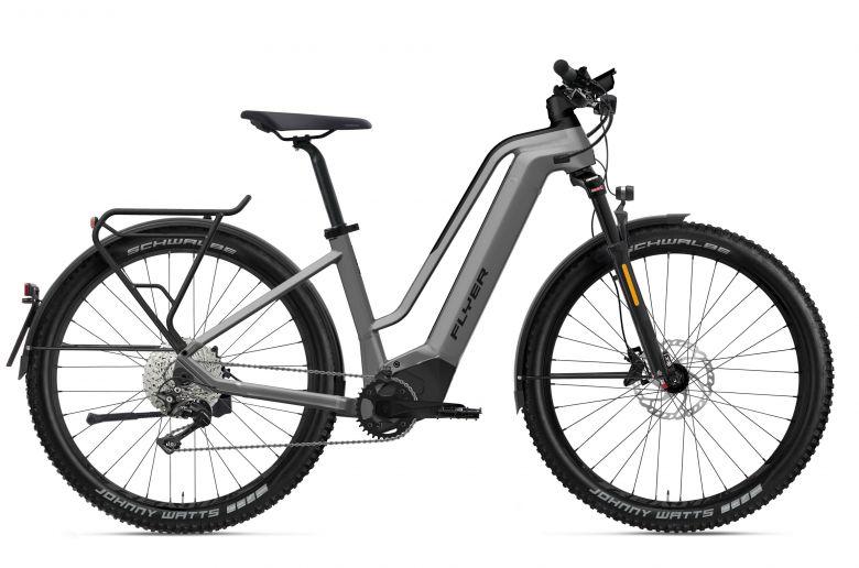 Flyer Uproc2 6.30 HS Speedbike 2022 Cast Silver - Cadre bas