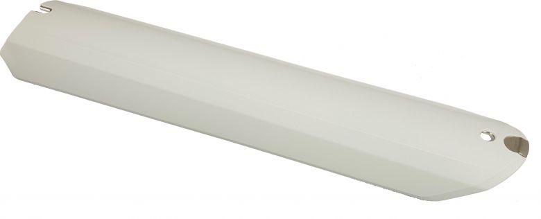 Haibike - Skidplate/ Plaque de protection pour batterie Bosch PowerTube - blanc