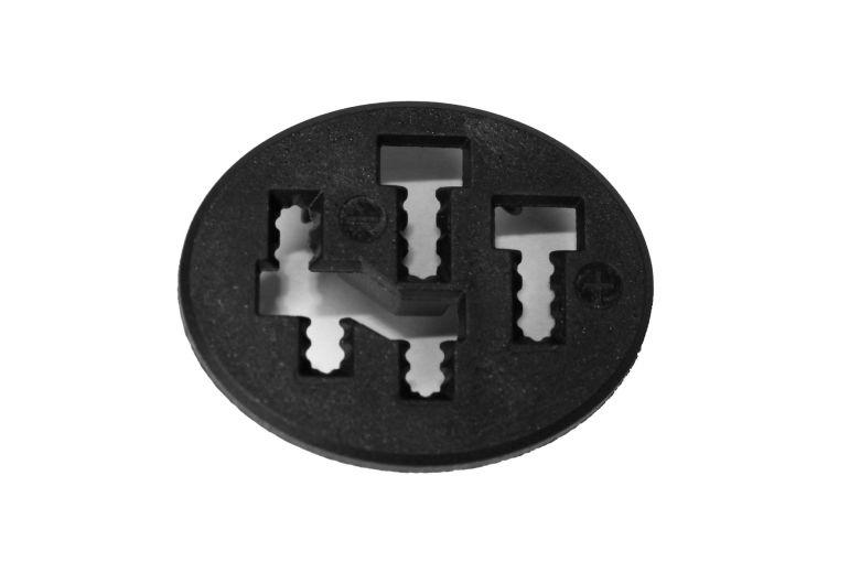 Bosch eBike Cache de protection pour connecteurs batterie Active, Performance