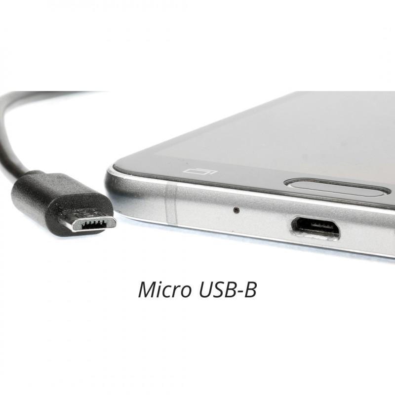 Smartphone Anschluss Micro USB-B