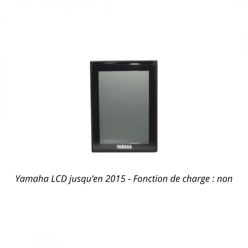 Yamaha eBike Ecran LCD jusqu'en 2015