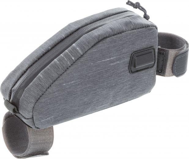 Evoc - Sacoche de bike packing pour tube supérieur 0,5 L gris gauche