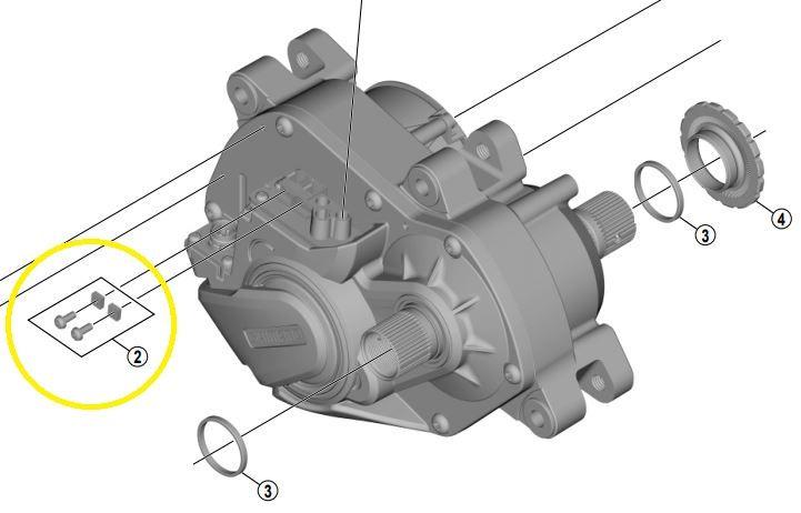 Shimano - Vis et écrou pour connexion éclairage sur moteurs E8000, E7000 et E6100