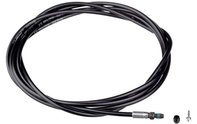 Magura Noir Flexible de freins 2500 mm MT2//Marta//Louise 0-degré pressé Raccord