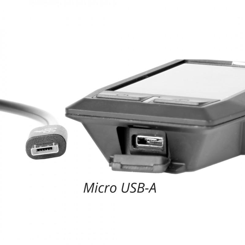Micro USB-A Anschluss am Bosch Display