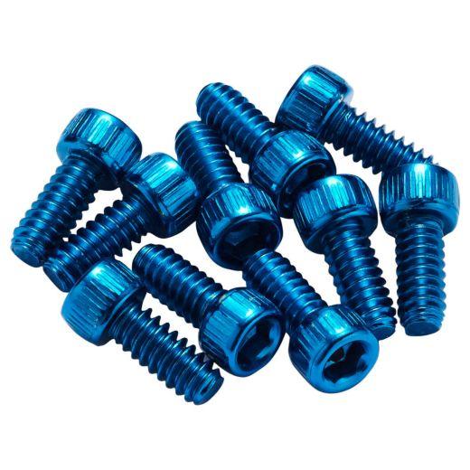 REVERSE - 10 x picots acier pour Escape Pro/ Black One - bleu