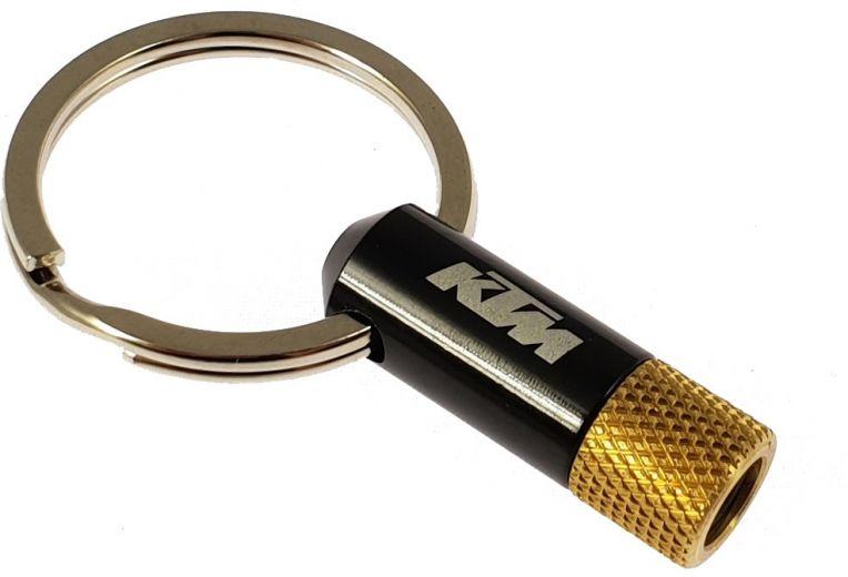 KTM - Porte-clé adaptateur de valve Presta DV/SV vers AV