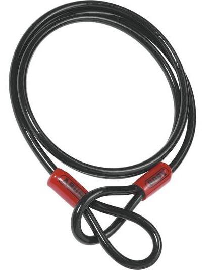 Abus - Câble antivol lasso Cobra en acier 200 cm