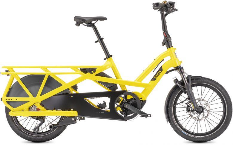 TERN GSD S10 2021 - Vélo cargo électrique - School Yello Bus