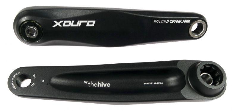 "Haibike - Manivelles ""The Hive"" Exalite ISIS pour XDuro"