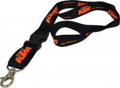 Tour du cou porte-clés KTM noir/orange