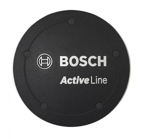 Bosch eBike Cache avec logo pour habillage moteur Active Line - noir
