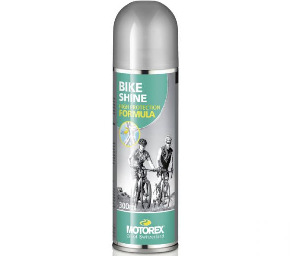 Motorex - Bike Shine - Spray d'entretien et de finition