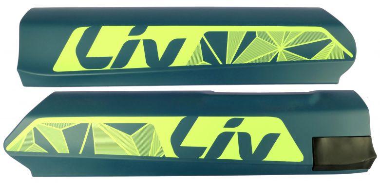 Giant - Cache latéral pour batterie Downtube Giant / Liv Energypak 500 vert