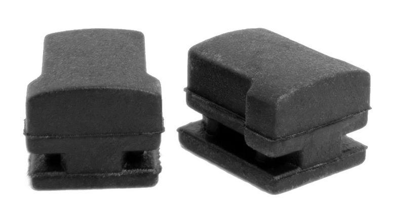Bosch eBike - Lot de 2 butées pour serrure Abus sur batteries de cadre Active / Performance