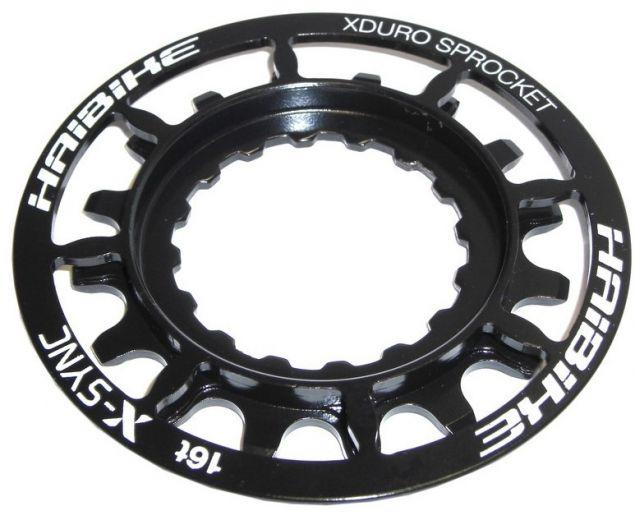 Haibike - Pignon 16 dents XDuro/Bosch Performance CX, noir