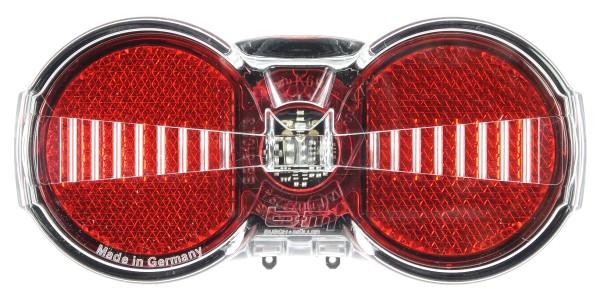 Busch & Müller - Toplight Flat S - Feu arrière pour vélo électrique 321/5ASDC0211 - 321/8ASDC0211