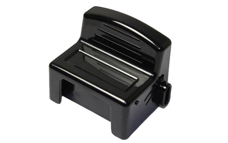 Panasonic - Cache pour connecteurs de batterie - moteur Premium 26V noir