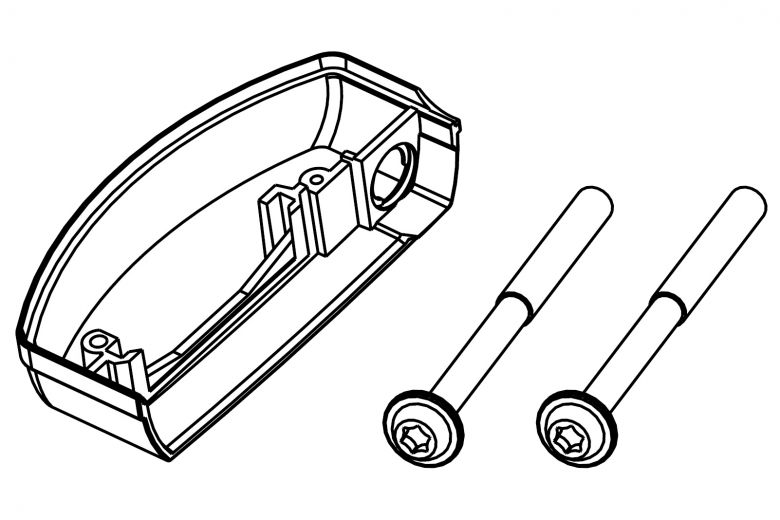 Bosch eBike Kit support de batterie de porte-bagages - Classic Line - 1270015031