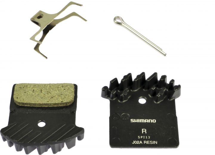 Shimano - Plaquettes de frein Ice-Tech J02A Résine