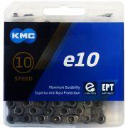 KMC - e10 EPT - Chaîne 10 vitesses pour vélo électrique - 136 maillons
