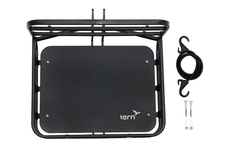 """Tern """"Transporteur Rack"""" Porte-bagage avant avec plateau bois"""
