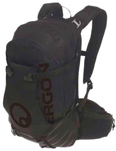 Ergon - Sac à dos BA3 E Protect 15+2 litres avec compartiment batterie noir/blanc