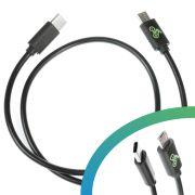 Câble de charge USB Micro B - USB C - 450 mm