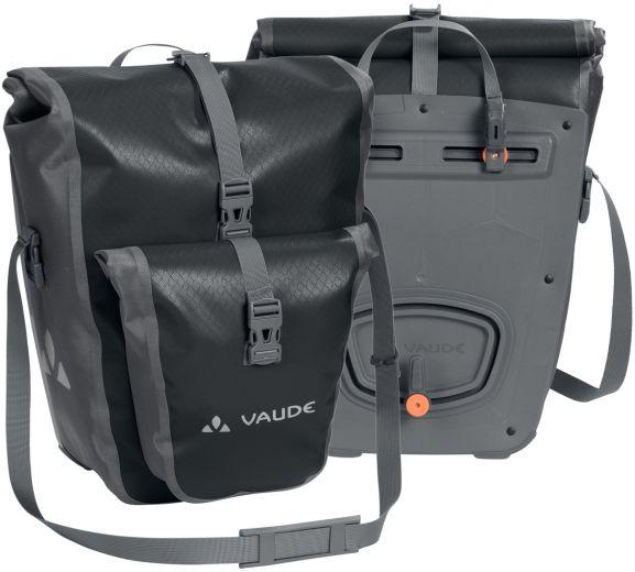 Vaude - Aqua Back Plus - Pair de sacoche vélo pour roue arrière noir