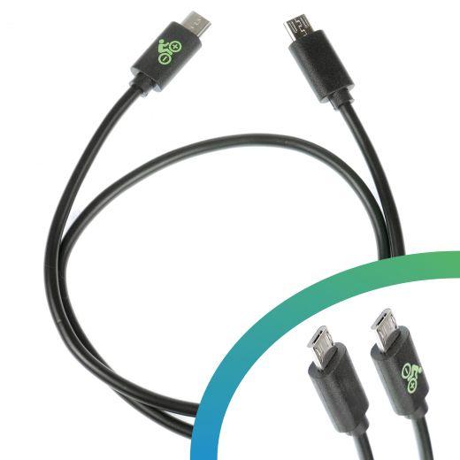 Câble de charge Micro USB-B - Micro USB-B 450 mm - pour Yamaha eBike