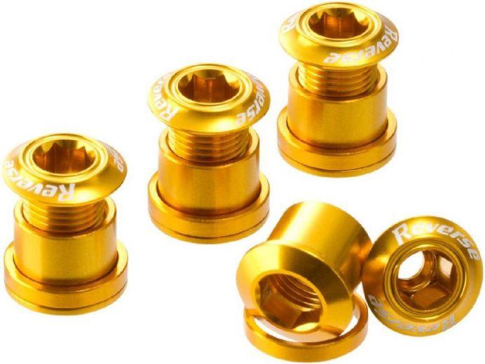 Reverse - Set de 4 vis de plateau doré
