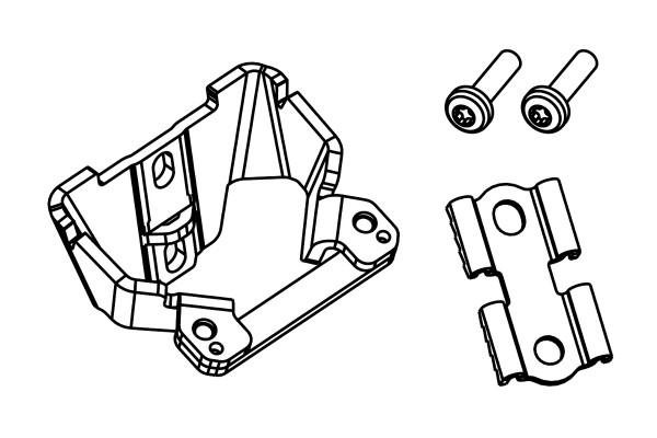 Bosch eBike Kit adaptateur de support pour batterie de cadre Classic Line   - 1270022029