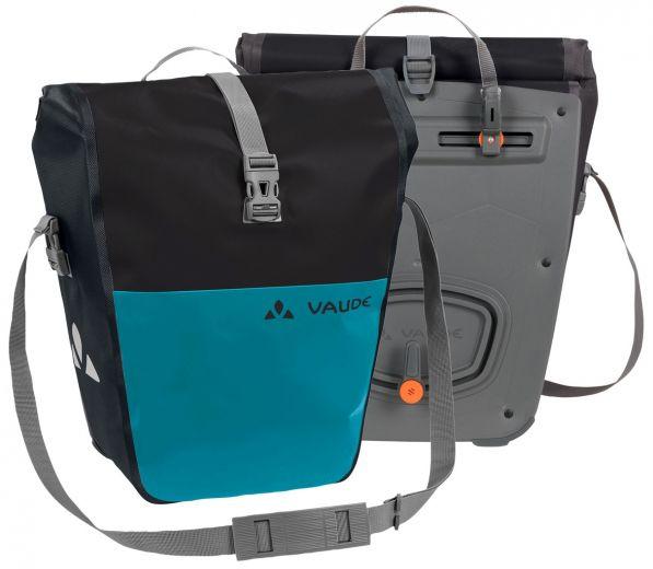 Vaude - Aqua Back Color - Paire de sacoches vélo pour roue arrière turquoise