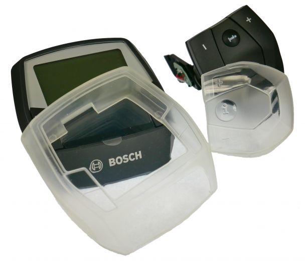 MH Cover - Set de 2 coques pour écran et commande déportée Bosch Intuvia