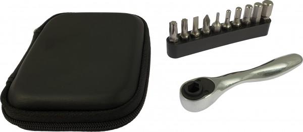 KTM - Pochette à outils avec mini clé à cliquet et embouts