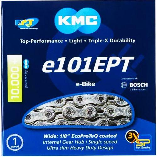 KMC - e101 EPT - Chaîne pour vélo électrique - 112 mailllons