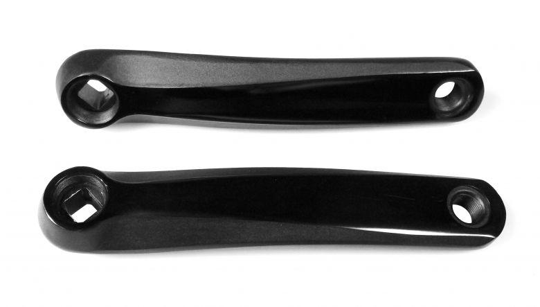 Flyer - Manivelles avec axe carré - noir