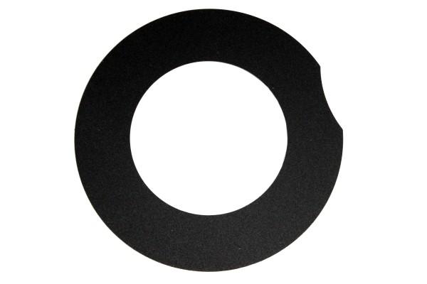 Bosch eBike Anneau de recouvrement pour habillage moteur, droit, Active/Performance Line 2014, noir