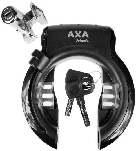 Axa - Antivol de cadre Defender et serrure pour batterie Impulse