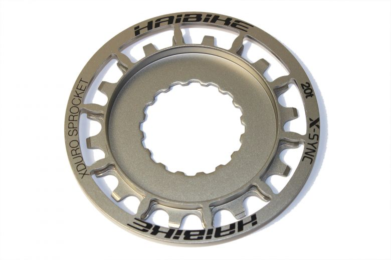 Haibike - Pignon 20 dents XDuro/Bosch Performance CX, argent