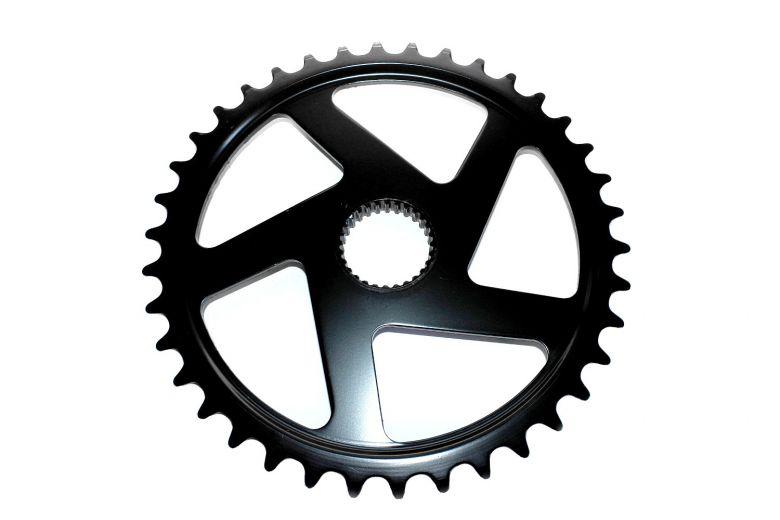Derby Cycle - Plateau 38 dents pour vélos électriques avec moteur Impulse