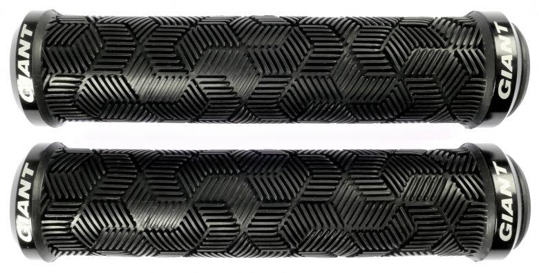 Giant - Poignées Tactal Double Lock-On - noir